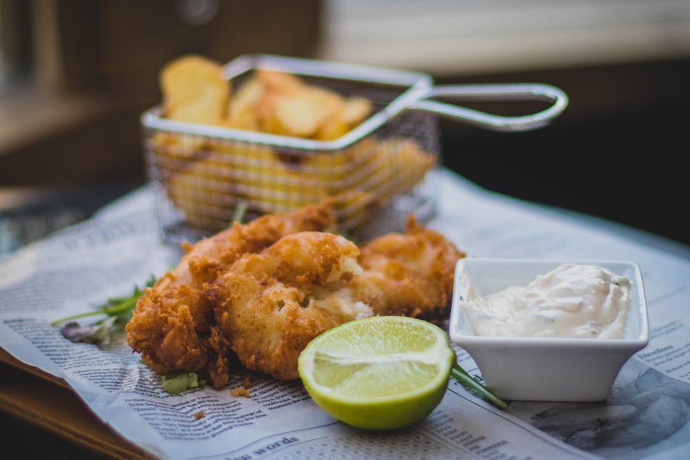 Docherty's Fish 'n Chips and Wee Pub: Misconceptions about fish and chips